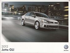 2012 12 VW Jetta GLI  original Sales brochure MINT