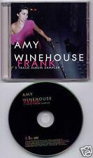 AMY WINEHOUSE Frank 5 Track Album Sampler 2003 UK promo CD FRANKCD1