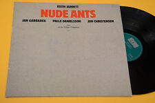 KEITH JARRETT JAN GARBAREK 2LP NUDE ANTS LIVE VILLAGE VANGUARD ECM JAZZ GATEFOLD