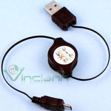 Adattatore USB cavo cavetto retrattile pr HTC Desire HD