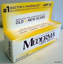 MEDERMA + SPF 30 Scar Cream SEALED NEW 0.70 oz (20g) 12/17 Expiration