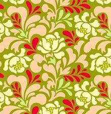 Heather Bailey Pop Garden Sway in Peach HB04 Fabric 1yd 100% Cotton