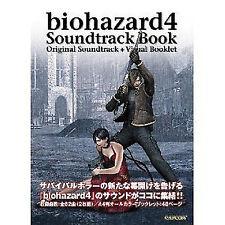 PS2 SOUNDTRACK CD BOOK BIOHAZARD 4 RESIDENT EVIL BIO HAZARD + cd set