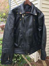 ✰BRAND NEW LANGLITZ Leathers COLUMBIA BLACK LEATHER Motorcycle JACKET