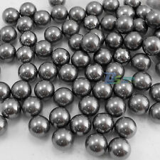100Pcs 10MM Catapult Slingshot Grade 100 G100 Steel Ball Bearing Ammo