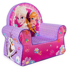Frozen Disney Chair Girls Queen Elsa Anna Olaf Soft Pink Kids Bedroom Furniture
