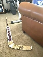 New ListingDan Cloutier Los Angeles Kings Signed Reebok Game Used Stick