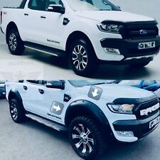 Ford Ranger 2015-18 Fender Flares T7 T8 Wheel Arch Extension - Wide Body Look