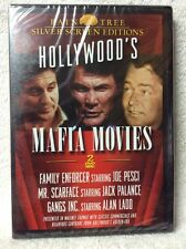 Hollywood's Mafia Movies: Family Enforcer, Mr. Scarface, Gangs Inc DVD Brand New