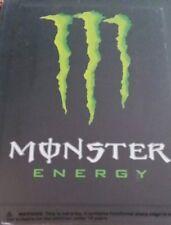 MONSTER ENERGY TIN METAL WALL TIN WITH FREE DECAL