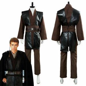 Star Wars Jedi Anakin Skywalker Sith Darth Vader Cosplay Costume Outfit