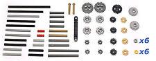 LEGO Technic Mindstorms NXT EV3 62 pieces bulk lot, gears, axles, rack