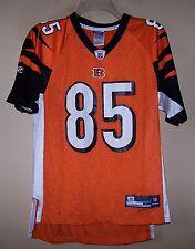 Boys Large 6106 Orange #85 JOHNSON Football Jersey BENGALS NFL Reebok OCHO CINCO