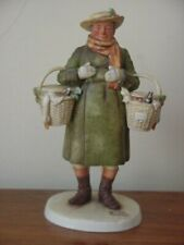 Gorham Norman Rockwell Merrie Christmas Saturday Evening Post Figurine