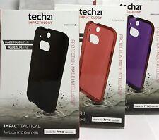 Tech21 Impact Tactical HTC One M8 Case - Black/Purple/Red