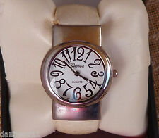 Geneva ladies watch strap plastic quarz ivory swing