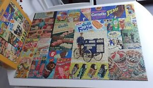 Gibsons Vintage Wall's Ice Cream Jigsaw Puzzle - 1000 Pieces - great fun!