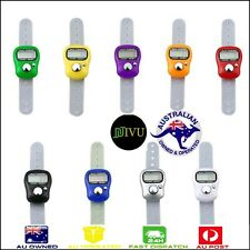BULK BUY Tally Finger Ring Counter Digital LCD Electronic Practical Clicker