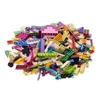 200 Teile Lego System Friends Bau Steine Kiloware gemischt z.B. rosa beige weiss