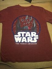STAR WARS THE FORCE AWAKENS BOYS  GRAPHIC T-SHIRT SZ. Small