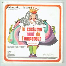THE COSTUME NEW OF THE EMPEROR Vinyl 45T Book EP Daniele DELORME Yves ROBERT