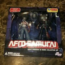 Afro Samurai Kuma Collector DC Unlimited FYE Exclusive Anime Action Figures Toys