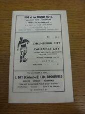 11/11/1968 Chelmsford City v Cambridge City [Eastern Professional Floodlight Com