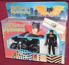 1 BOX FIGURE TOY BATMAN VINTAGE 90 TAIWAN-SET BAT MAN ROBOT,MOTO MOTORCYCLE gjoe