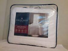 Fieldcrest Down Comforter Queen Size White