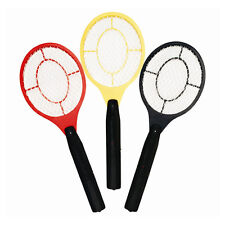 Bug Zapper Racket Electronic Mosquito Fly Swatter Insects Electric Bat Handheld