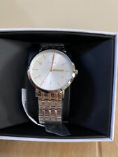 BN DKNY LADIES MINETTA TWO TONE GOLD AND SILVER WATCH