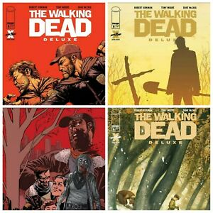 Walking Dead Deluxe #6 Cover A B C D Variant Options NM
