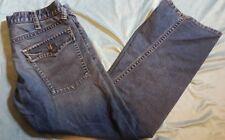 """ARMANI JEANS """"Indigo 005' Uomo Contorto Gamba Jeans Taglia: W 34 L 31 molto buone cond"""
