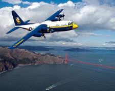 Uns, Marine Blue Angels Fat Albert San Francisco 11x14 Silber Halogen Fotodruck
