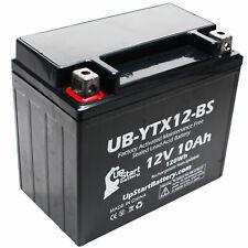 12V 10Ah Battery for 2000 Honda TRX250 TE, TM, FourTrax Recon 250 CC