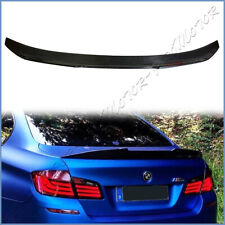 Carbon Fiber 11-16 BMW F10 PS-M Look Trunk Spoiler Wing For 528i 535i 550i M5