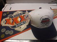 Super Bowl XXXV XXXIV Lot Of Pennant 2001 & Baseball Cap Hat 2000 jh