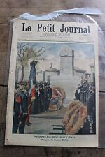 Petit journal shown No.575 1901 Agent Bailly Conflict Franco Turkish Mytilene 2