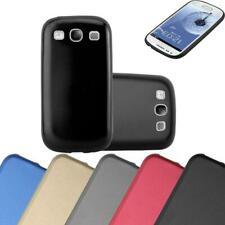 Silicone Case for Samsung Galaxy S3 / S3 NEO Shock Proof Cover Mat Metallic TPU