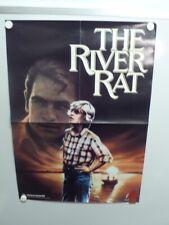 THE RIVER RAT Tommy Lee Jones MARTHA PLIMPTON Home Video Poster 1984