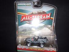 Greenlight Ford Bronco 1968 GRIS TOUS TERRAINS séries 35010 1/64