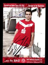 Thomas Denker Autogrammkarte Rot Weiss Essen 2011-12 Original Signiert+ A 155498