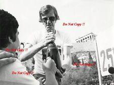 Walter Rohrl ALITALIA FIAT 131 ABARTH vincitore ACROPOLIS RALLY 1978 fotografia 2