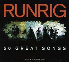 Runring - 50 Great Songs - 3CD + Bonus DVD