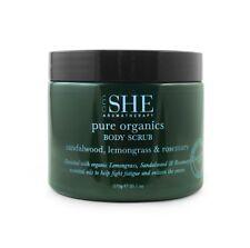 Om She Aromatherapy Organics SANDALWOOD LEMONGRASS & ROSEMARY Body Scrub