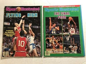 1986 Sports Illustrated LOUISVILLE CARDINALS National Championship Set NO LABELS