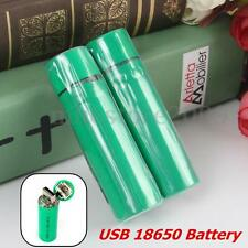 Latest Portable 18650 Li-ion Rechargeable Battery Smart USB Charger 3800mAh