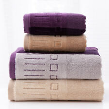 Set Bath Hand Towel Set Luxury  super Soft Cotton Face Hand Bath Bathroom Towels
