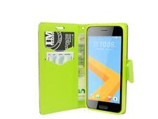 HTC ONE A9S // Tasche Hülle Cover Schutzhülle PU-Leder Schutz Zubehör in Blau
