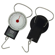 NGT Carp Coarse Fishing Tackle Day Weigh Luggage Scales 22kg 50lb + Tape Measure